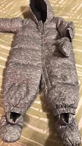 12 month GAP snowsuit