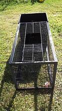 Steel rabbit hutch Singleton Singleton Area Preview