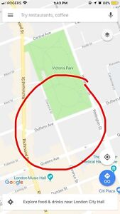 Looking For: Downtown Parking (Dufferin Ave)