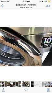 Samsung steam  washer & Dryer used for 6 months only