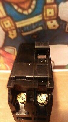 Square D Qo220 2 Pole 20 Amp Breaker Black
