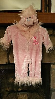 Infant Halloween Costume Size 12-18 Months Pink Fuzzy Poodle](Infant Pink Poodle Costume)