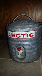 Vintage artic Water Cooler with Spout