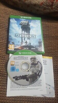 STAR WARS BATTLEFRONT XBOX ONE boxed complete disc vgc