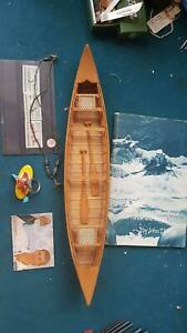 COLLECTION OF canoeing kayaking white water collectables..