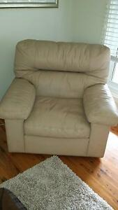 Free leather lounge chair Belrose Warringah Area Preview