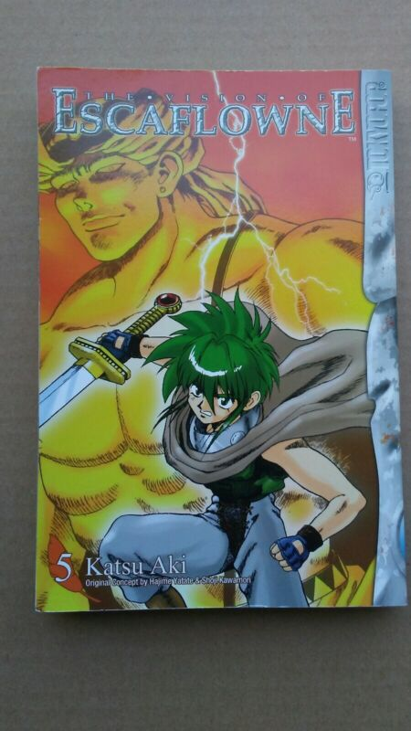 The Vision Of Escaflowne Volume 5 by Katsu Aki. Great Condition