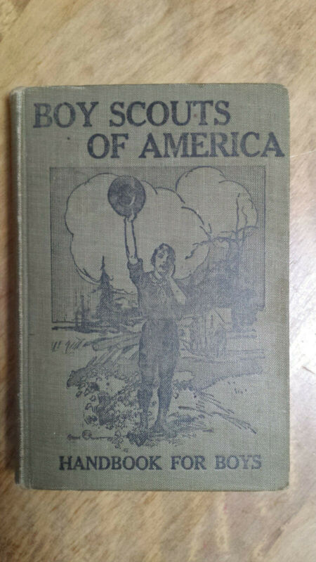 Boy Scouts of America Handbook 1911 FIRST EDITION