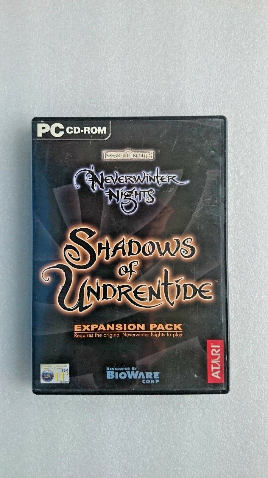 Neverwinter Nights: The Shadows of Undrentide: Expansion Pack (PC 2003)