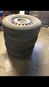 "17"" Winter tires on rims for sale"