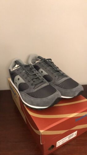 mens jazz low pro charcoal gray running