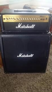Marshall MG100HDFX and Matching 412A (4x12 Angled) Cabinet Fairfield East Fairfield Area Preview