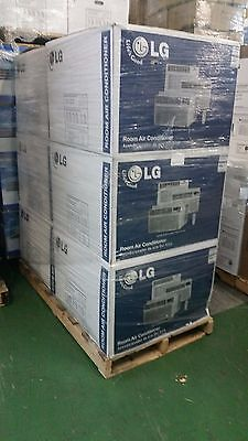 Lot of 6 LG LW1815HR 18,000BTU Window Air Conditioner Cooling & Heating Remote