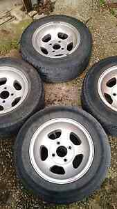 4x Escort cortina 13x5.5 108 mag rim wheels 5 spoke jellybean Morphett Vale Morphett Vale Area Preview