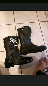 Alpinestars S-MX 5 Leather riding boots Keysborough Greater Dandenong Preview
