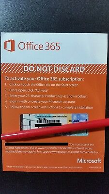 Microsoft Office 365 Personal 1 Year Subscription of Latest MS OFFICE +1TB CLOUD for sale  Shipping to India