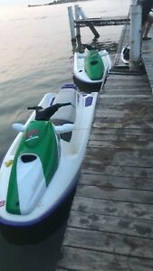 2X seadoo 3 seaters