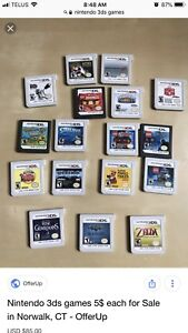 Looking to purchase nintendo 3ds system and games