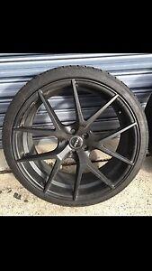 """19"""" Subaru wheels and tyres Parramatta Parramatta Area Preview"""