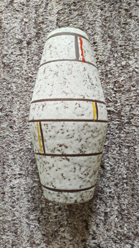 Bodenvase, Blumenvase grau