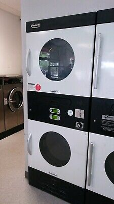 Commercial Double Stack Dryer Adc Solaris Sl3131 Coin Op Gas Dryer.