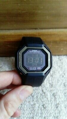 Casio G Shock Wave ceptor Tough Solar GW 056E watch *NEW Rechargeable battery*