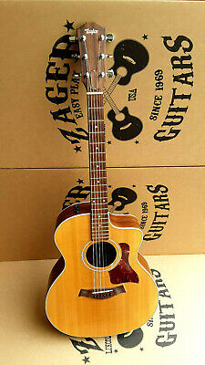 """Taylor 214CE Deluxe Acoustic Electric Guitar, """"Easy Play"""" made, rare! #6270"""