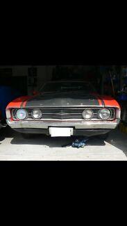 XA GT FALCON SEDAN 5/1972 BARN FIND