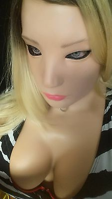 Girl Mask - Realistic Female Girl Latex Sexy Mask Disguise Halloween Costume Movie Denise