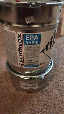 Schonox Epa Rapid Epoxy. 2 Part Moisture Mitigation System For Concrete