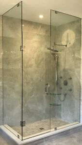 CUSTOM SHOWER GLASS DOORS BATHTUB ENCLOSURES OFFICE ENTRANCES