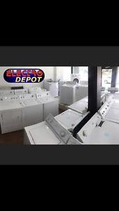 Frigo,laveuse,sécheuse,poêle usagé à vendre Victoriaville