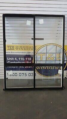Aluminium Sliding Window 1840H x 1490W (Item 5021/1) Black