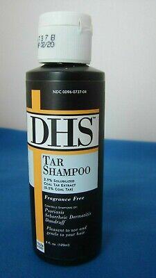 DHS TAR Shampoo Fragrance Free 4 fl oz. -