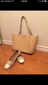 Brand New Authentic Tory Burch bag and shoe size 10.5 Cambridge Kitchener Area image 2