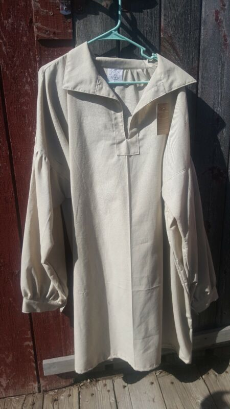 Mountain Man, Longhunter, Reenactor Shirt, Natural, 2XL
