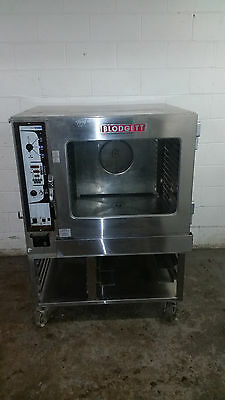 Blodgett Combi Bc14eab Combination Oven Steamer 208v 3 Phase Tested W Stand