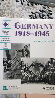 Germany 1918 - 1945 a study in depth