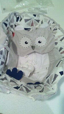 REPLACEMENT SEAT COVER FOR FISHER PRICE OWL 2-IN-1 SMART CRADLE 'N SWING FABRIC