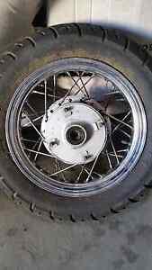 Yamaha xv250 rear wheel Clunes Hepburn Area Preview