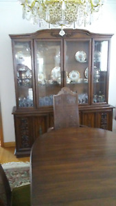DINING ROOM SET-Solid Wood