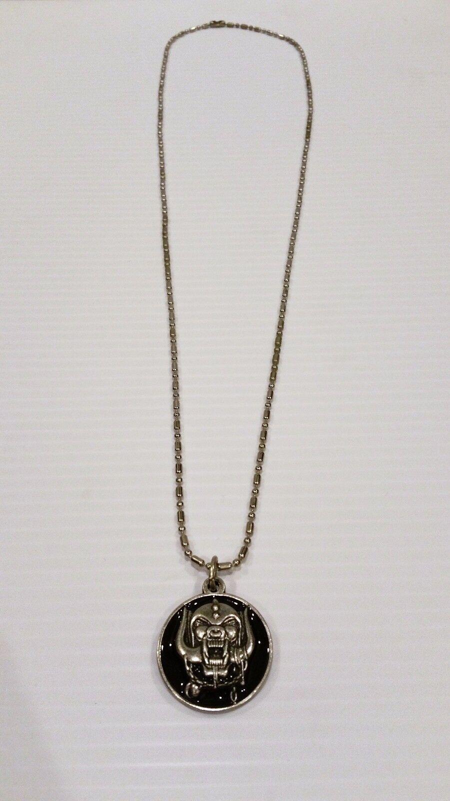 Motorhead warpig pendant with chain