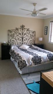 Master bedroom & own furnished living room
