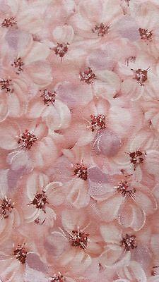 Ткань Dogwood Blossoms Fabric, Rose Blender,
