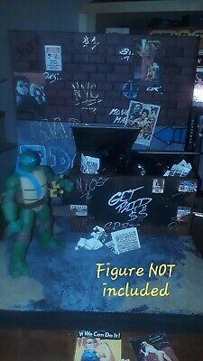 1/12 custom Action Figure Diorama brick wall marvel legends star wars figuarts