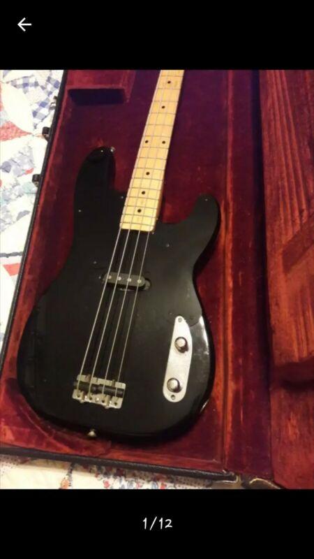 STOLEN Vintage 1953 Fender Precision Bass #0208