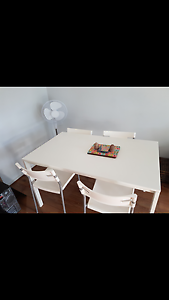 Dining table with 4 chairs Glen Iris Boroondara Area Preview
