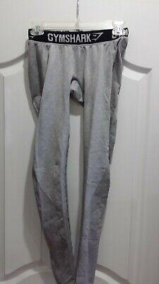 Gymshark charcoal black and gray flex leggings, size XS
