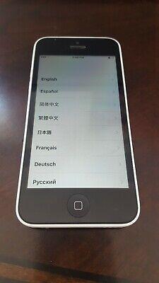 Apple iPhone 5c 8GB - White (Sprint) (CDMA - GSM)