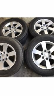 Mitsubishi pajero VRX 18 Inch Wheels And Tyres 70% Baulkham Hills The Hills District Preview